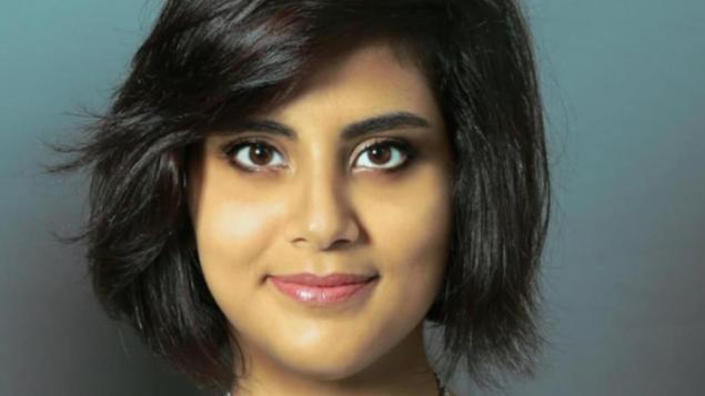 لجين الهذلول مثلت الاربعاء الماضي أمام المحكمة لأول مرة في السعودية حقوق الصورة: CBC