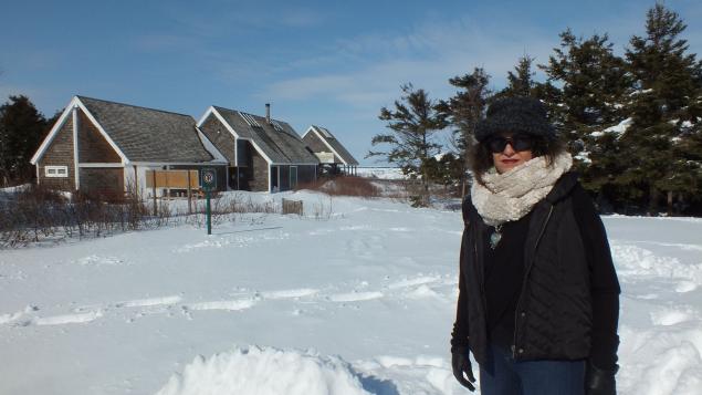 الكنديّة من أصل ايراني فرحناز رضائي استقرّت مع عائلتها في مقاطعة جيرة برنس ادوارد/فيسبوك/فرحناز رضائي