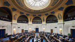 مقر الجمعية التشريعية في مانيتوبا الذي سيفتح أمام الأطفال للإطلاع على عمل الحكومة والسلطة التشريعية/الصحافة الكندية