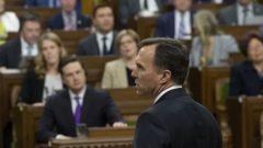 وزير المال بيل مورنو يعلن موازنة الحكومة في مجلس العموم الكندي في 19-03-2019/Sean Kilpatrick/CP