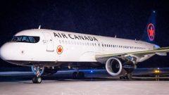 طائرة الخطوط الجوية الكندية التي اضطرت للهبوط في فالدور بسبب مسافر مشاغب/راديو كندا