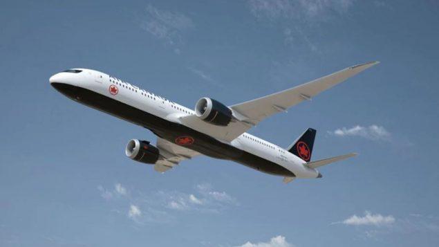 طائرة تابعة للخطوط الجويّة الكنديّة/ Air Canada