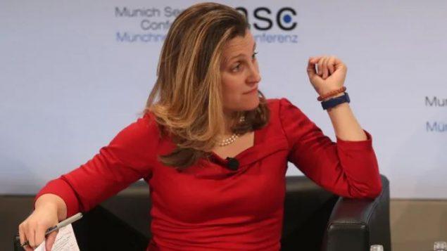 كريستيا فريلاند، وزيرة الخارجية الكندية - Alexandra Beier / Getty Images