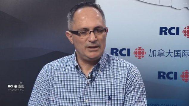 الأستاذ ايلي صليبا الرئيس السابق للحركة الرسوليّة المريميّة في مونتريال/RCI