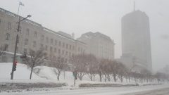 ثلوج وأمطار جليديّة في عدد من المدن الكنديّة، من بينها مدينة كيبيك/Radio-Canada / Hans Campbell