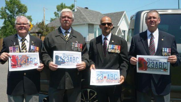 قدامى المحاربين في كيبيك أعربوا عن ارتياحهم للوحة الجديدة التي تحترم واجب الذاكرة/Radio-Canada / Marc-Antoine Lavoie