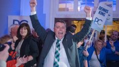 دنيس كينغ زعيم المحافظين و رئيس الحكومة المنتخب في مقاطعة جزيرة برنس ادوارد/CBC / Brian McInnis/ هيئة الاذاعة الكنديّة