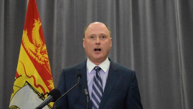 تريفور هولدر، وزير التعليم ما بعد الثانوي في نبو برنزويك - Radio-Canada / Michel Corriveau