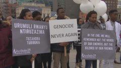 أعضاء من الجالية الرواندية يتجمّعون في أوتاوا بمناسبة مرور 25 عاما على الإبادة الجماعية في رواندا- Radio Canada