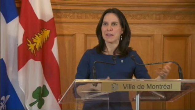 عمدة مونتريال، فاليري بلانت - أرشيف - Radio Canada