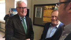 كيفن فيكرز الزعيم الجديد للحزب الليبرالي المحلي في نييو برنزويك/CBC/Jacques Poitras/هيئة الاذاعة الكنديّة