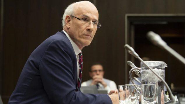 كاتب المجلس الخاص مايكل ورنيك خلال إدلائه بشهادته أمام اللجنة الدائمة للعدل وحقوق الإنسان التابعة لمجلس العموم في أوتاوا في 21 شباط (فبراير) الفائت (Adrian Wyld / CP)