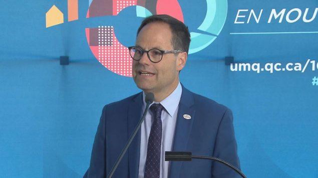 ألكسندر كوسون ، رئيس اتحاد البلديات في كيبيك - Radio Canada
