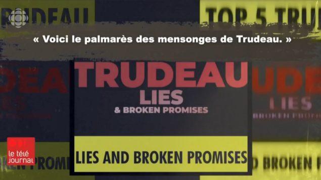 لقطة من فيديو يتهجّم على جوستان ترودو ويصفه بالكاذب - Radio Canada