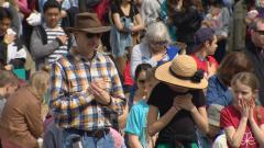 دعاة الحياة وعدم قتلها تظاهروا في البرتا احتجاجا على الإجهاض/حقوق الصورة: Radio-Canada / Richard Marion