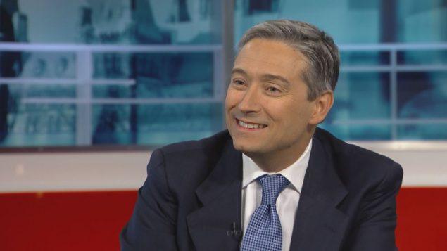 فرانسوا فيليب شامباني ، وزير بنية التحتية الكندي - CBC
