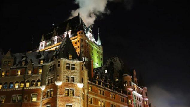 فندق فرونتناك أحد معالم مدينة كيبيك/Radio- Canada
