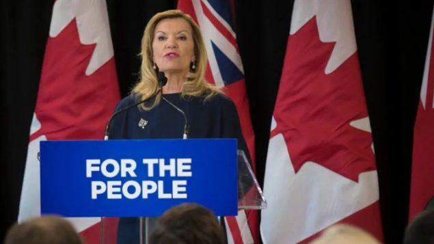 كريستين إليوت، وزيرة الصحة والخدمات الاجتماعية في أونتاريو - Tijana Martin / The Canadian Press