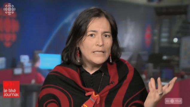 ميشيل اوديت المفوّضة في لجنة التحقيق تتحدّث لتلفزيون راديو كندا/Radio-Canada