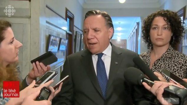 فرانسوا لوغو رئيس حكومة كيبيك - Radio Canada