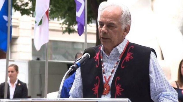 جيسلان بيكار، رئيس جمعية الأمم الأوائل في كيبيك ولابرادور - Radio Canada