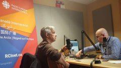 الفنان والمغني الجزائري حميدو في حوار مع الصحفي سمير بن جعفر من راديو كندا الدولي - Photo : Djamel Lahlou