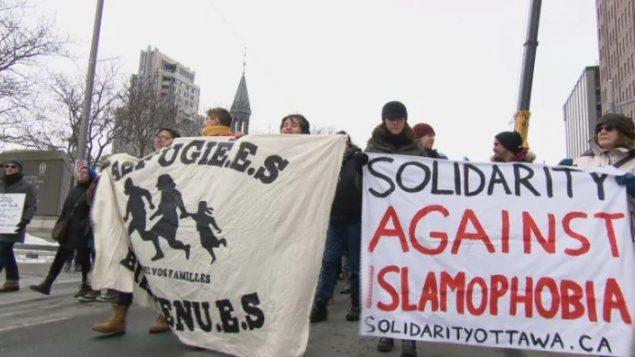 استعملت الحكومة الكندية تعريف لجنة حقوق الانسان في أونتاريو لهذا المصطلح الاسلاموفوبيا - CBC