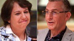 طبيبا العائلة الدكتورة منار الفرّا وزوجها الدكتور غطفان شعبان/ Radio-Canada / Martin Ouellet
