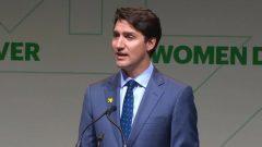 رئيس الحكومة جوستان ترودو لم يستخدم كلمة إبادة خلال حفل صدور التقرير في 03-06-2019/Radio-Canada