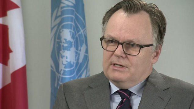 سفير كندا الدائم لدى الأمم المتحدة مارك أندريه بلانشار يدعو للتحرك بسرعة/راديو كندا