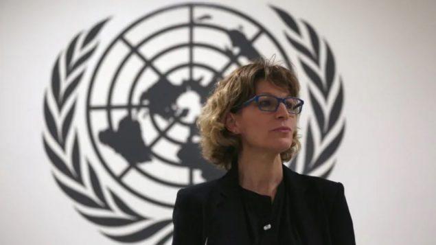 أنياس كالامار مقرّرة الأمم المتّحدة /Jose Cabezas/Reuters
