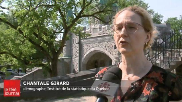 شانتال جيرار، المختصة في علم السكان في معهد الإحصاء في كيبيك