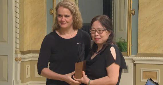 باييت تمنح جائزة للباحثة الصينية في عام 2018/سي بي سي