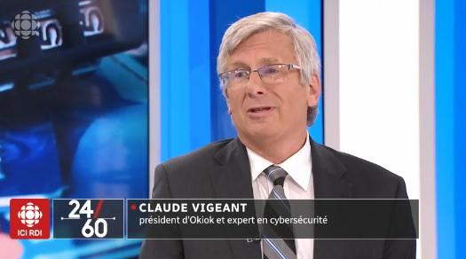 كلود فيجان، خبير في الأمن السيبراني - Radio Canada