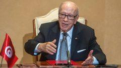 الرئيس التونسي الباجي قائد السبسي توفّي عن 92 عاما/Hassene Dridi/ AP