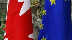 اتفاق التبادل التجاري الحر بين أوروبا وكندا يفتح المحال أمام الشركات الكندية للوصول لخمسمئة مليون مستهلك أوروبي/الصحافة الكندية