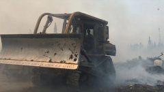 فرق الاطفاء تكافح حريق غابات في بيكانغيكوم شمال غرب مقاطعة أونتاريو/Ministère des ressources naturelles et forêts de l'Ontario