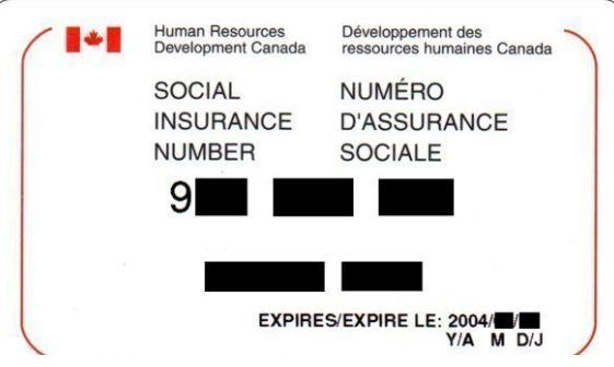 البطاقة التي تحمل رقم التأمين الإجتماعي قي كندا - Radio Canada
