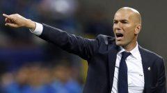 زين الدين زيدان، مدرّب فريق ريال مدريد - Associated Press / Manu Fernandez