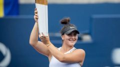 أصبحت لاعبة التنس الكندية بيانكا أندريشكو، تحتل المرتبة 14 في الترتيب العالمي - Evan Mitsui / CBC News