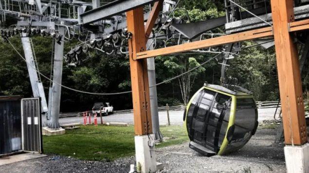 قطع كابلات التلفريك في سكواميش جريمة متعمّدة حسب الشرطة الفدراليّة/ Squamish RCMP
