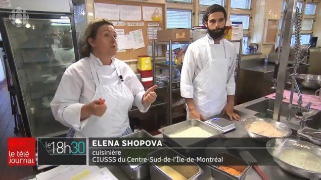 إيلينا شوبوفا، طباخة في أحد مراكز إيواء المسنّين - Radio Canada