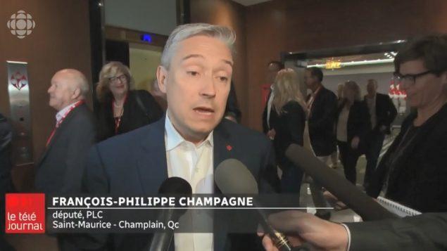 المرشّح الليبرالي، فرانسوا-فيليب شامباني - Radio Canada