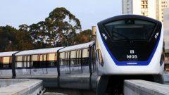 قطار مونوريل في مدينة ساو باولو البرازيلية من صنع شركة بومباردييه - Photo : Bombardier