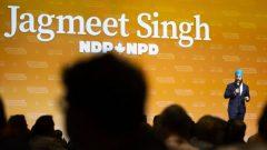 جاغميت سينغ، زعيم الحزب الديمقراطي الجديد في كندا - LA PRESSE CANADIENNE / TARA WALTON