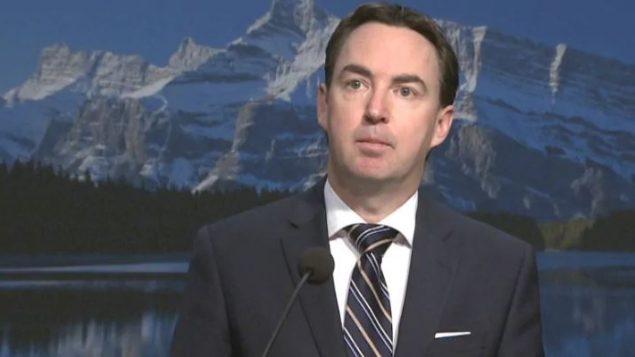 جيسون كوبتغ، وزير العمل والهجرة في ألبرتا - Jocelyn Boissonneault / CBC