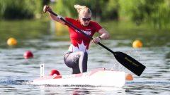بطلة سباق زوارق الكاياك، الكندية لورانس فنسان لابوانت - Canoe Kayak Canada