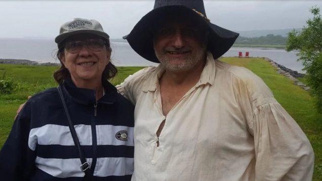 لوري وجون ريالز أكاديّان من ولاية لويزيانا الأميركيّة يشاركان في المؤتمر الأكادي العالمي في جزيرة برنس ادوارد/Courtoisie Laurie Rials