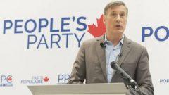 """"""" تقوم الأحزاب الأخرى بتحليل استطلاعات الرأي والتحدث مع مجموعات التركيز لتقرير ما الذي ستدافع عنه و تنحني أمام كل جماعات الضغط ، فإننا سنحترم مبادئنا."""" مكسيم بيرنييه - (الصورة من الأرشيف) - Graham Hughes / Canadian Press"""