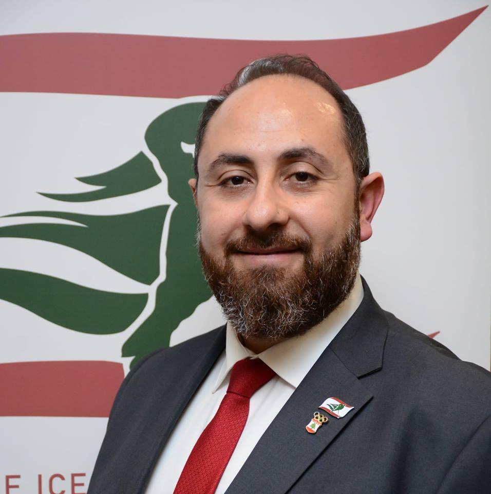 رالف ملكي نائب رئيس الاتّحاد اللبناني للهوكي في كندا يقول إنّ الاتّحاد يسعى لتعزيز الاهتمام بهذه الرياضة في لبنان/ فيسبوك/ رالف ملكي